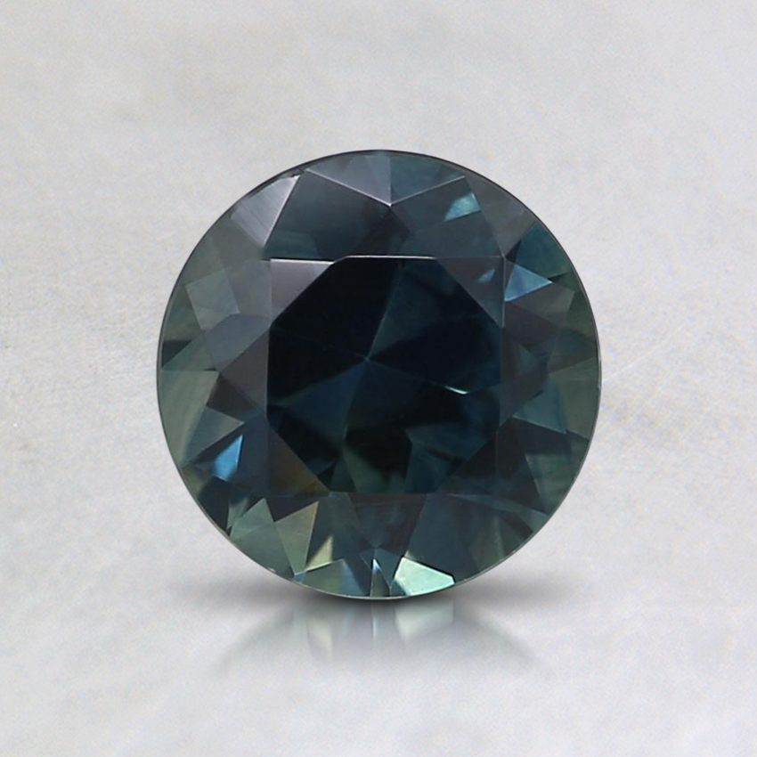 6mm Teal Round Montana Sapphire