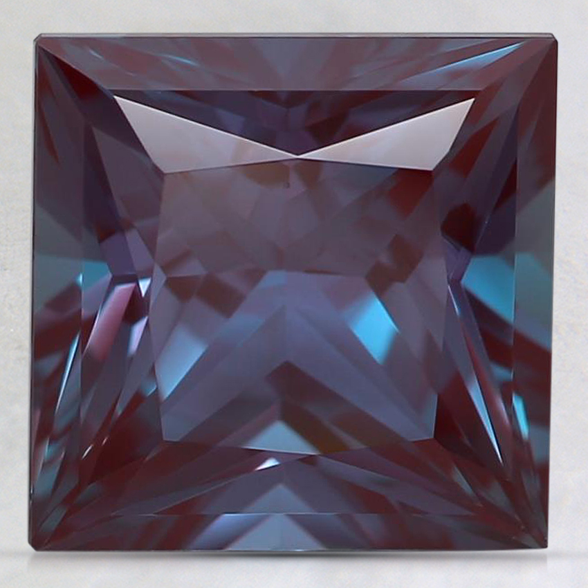 9mm Purple Princess Lab Created Alexandrite