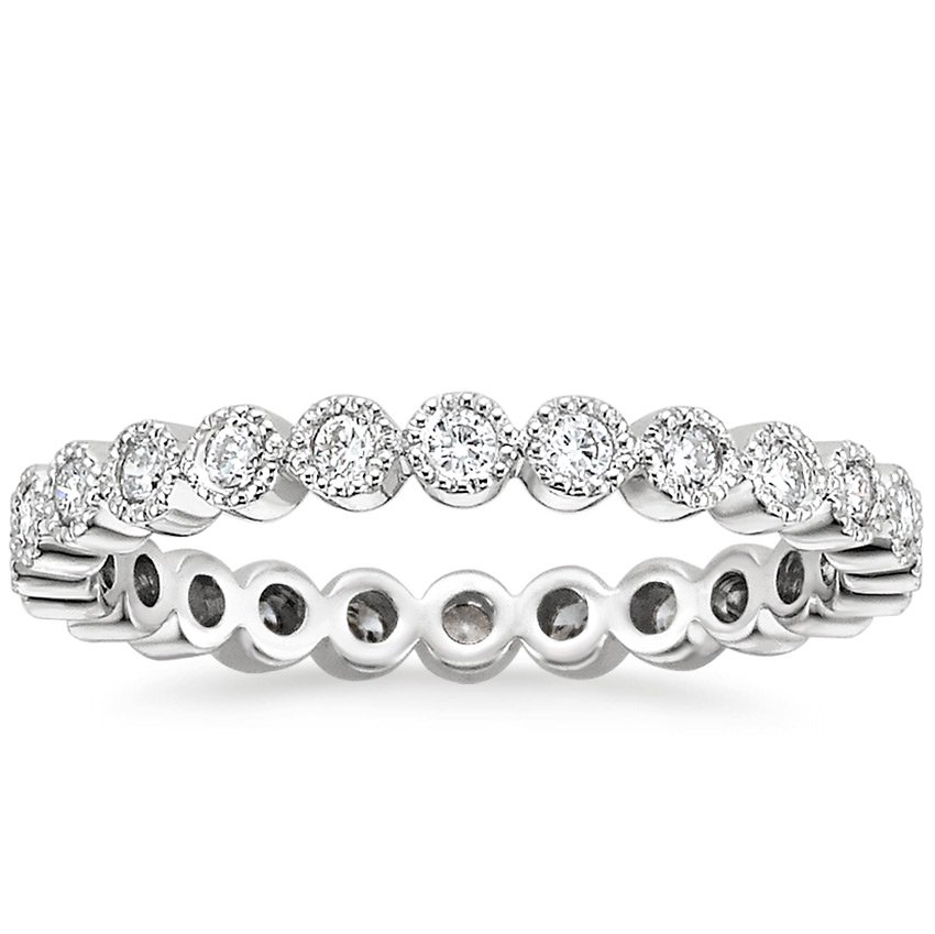 Solstice Eternity Diamond Ring (1/3 ct. tw.) in 18K White Gold