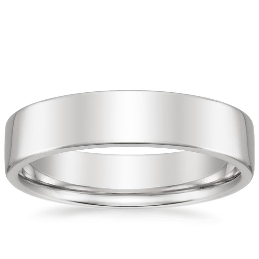 Low Profile Men's Wedding Ring