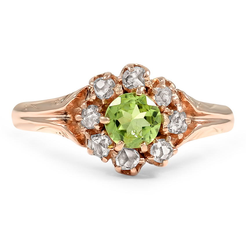 Victorian Peridot Vintage Ring