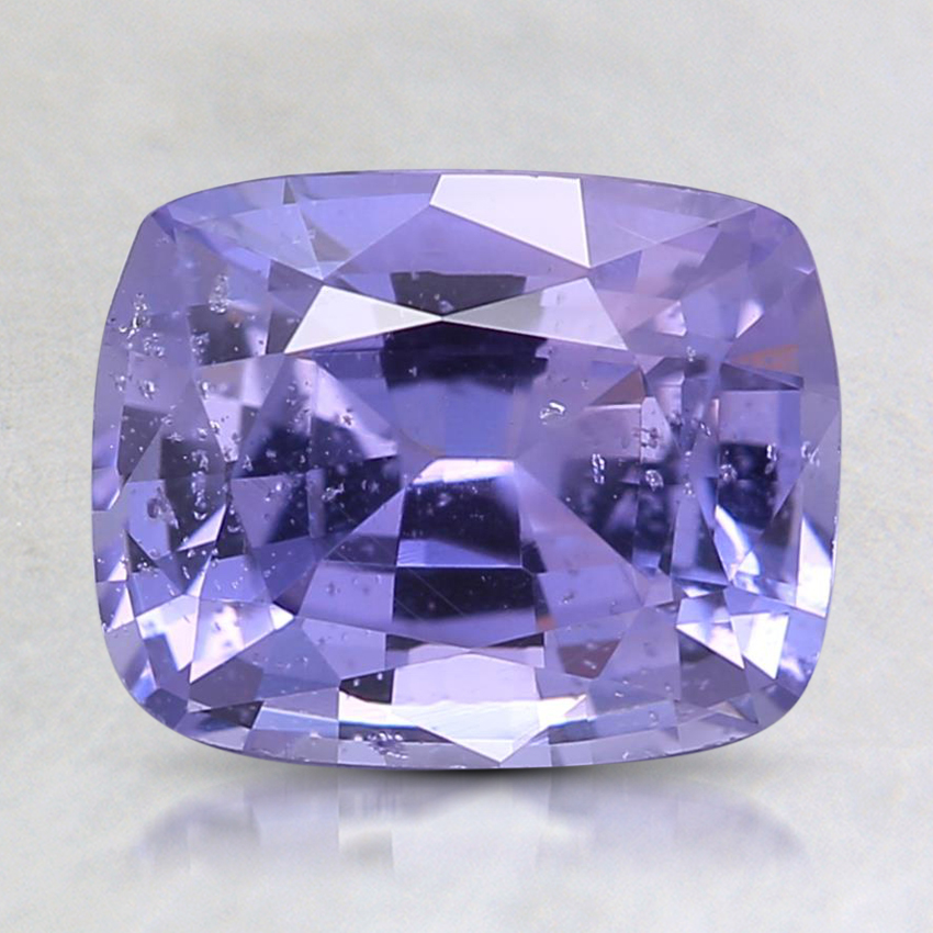 8.2x6.6mm Unheated Purple Cushion Sapphire