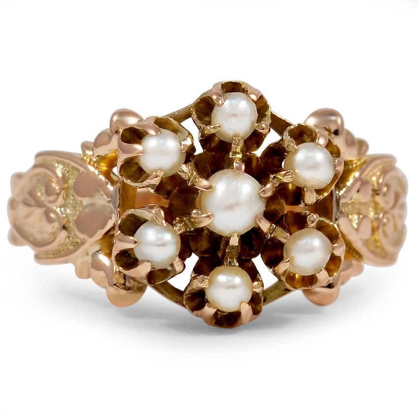 Victorian Pearl Vintage Ring
