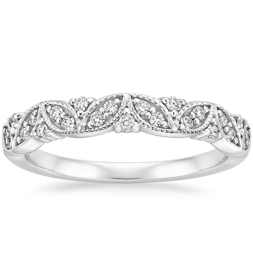 Florette Diamond Ring in Platinum