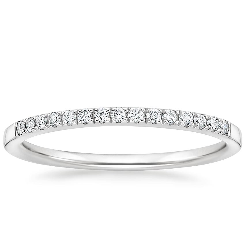 Petite Band Diamond Ring