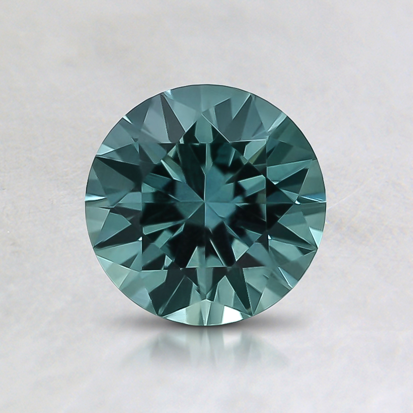 6mm Round Teal Montana Sapphire