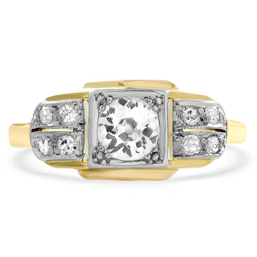 Retro Diamond Vintage Ring