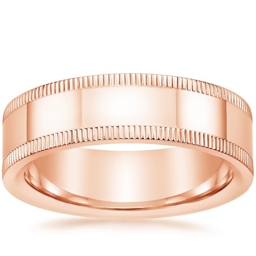 Rose Gold Ryland Wedding Ring