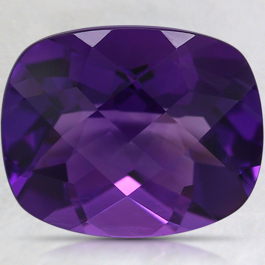11x9mm Cushion Amethyst