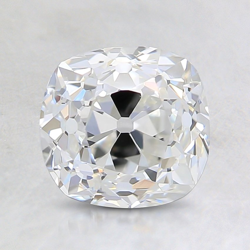 1.23 Ct., G Color, VS2, Old Mine Cut Diamond