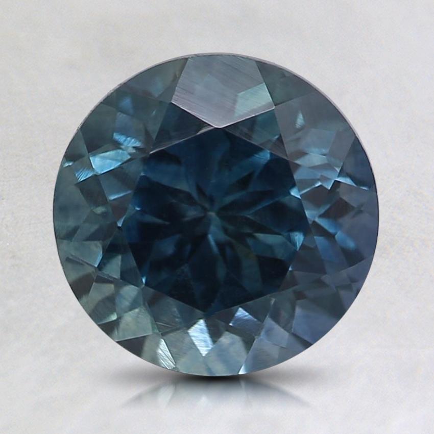 7 6mm Blue Round Montana Sapphire