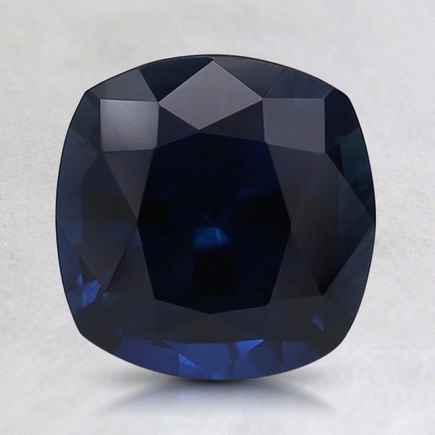 7.5mm Super Premium Cushion Blue Sapphire