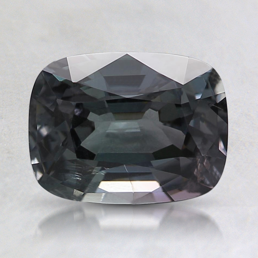 7.9x6mm Gray Cushion Spinel