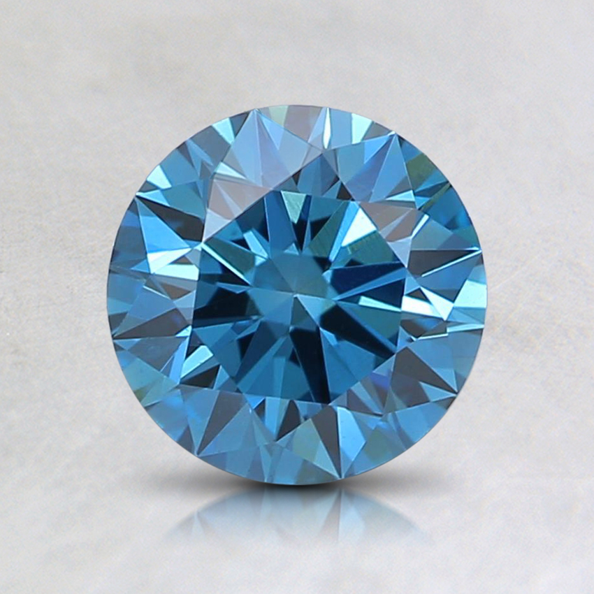 1.00 Ct. Fancy Deep Blue Round Lab Created Diamond