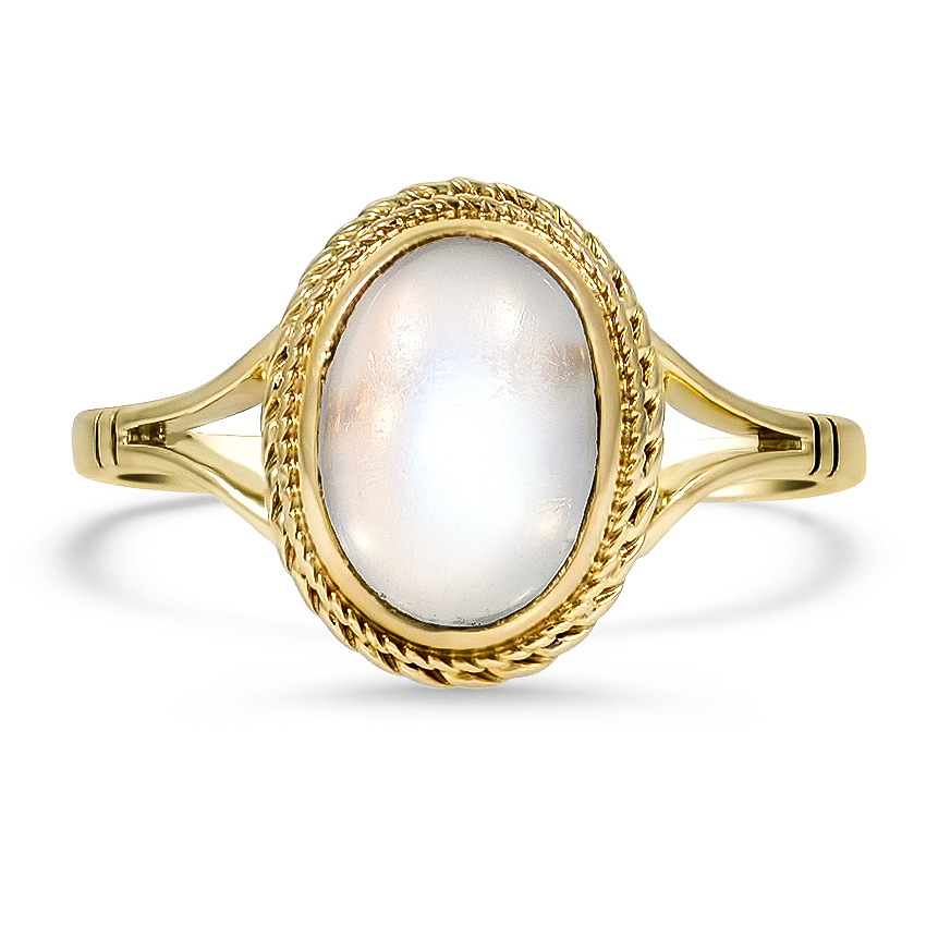 Victorian Moonstone Cocktail Ring