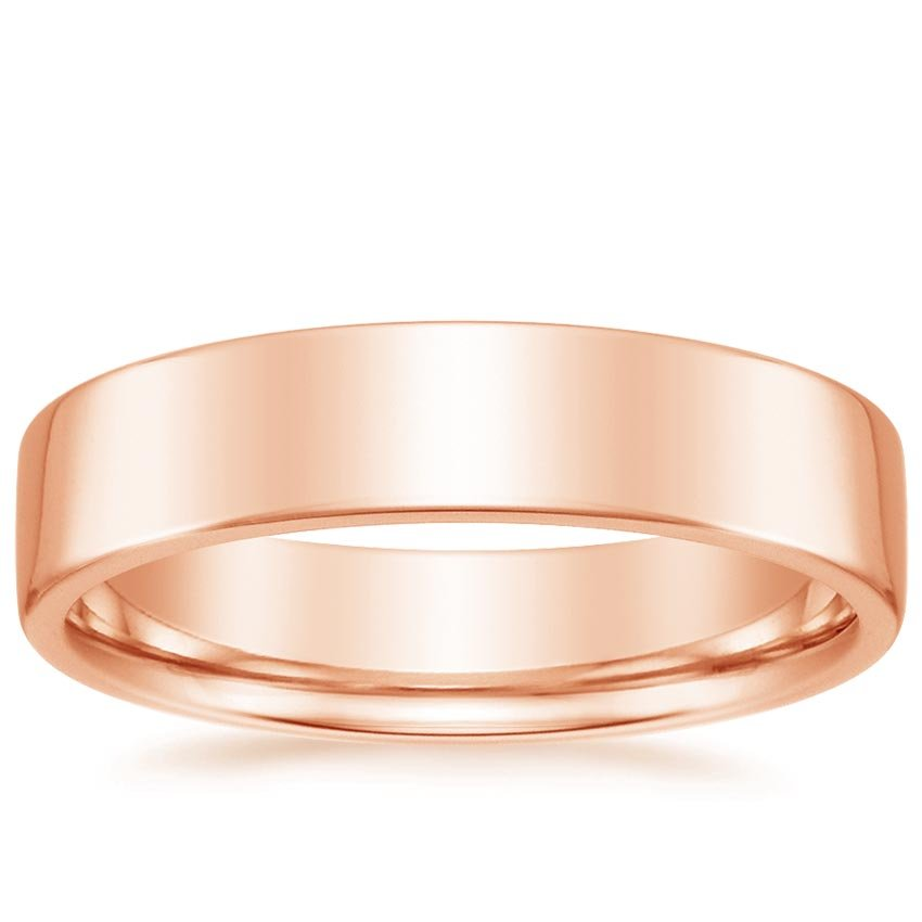 14K Rose Gold Mojave Ring, top view