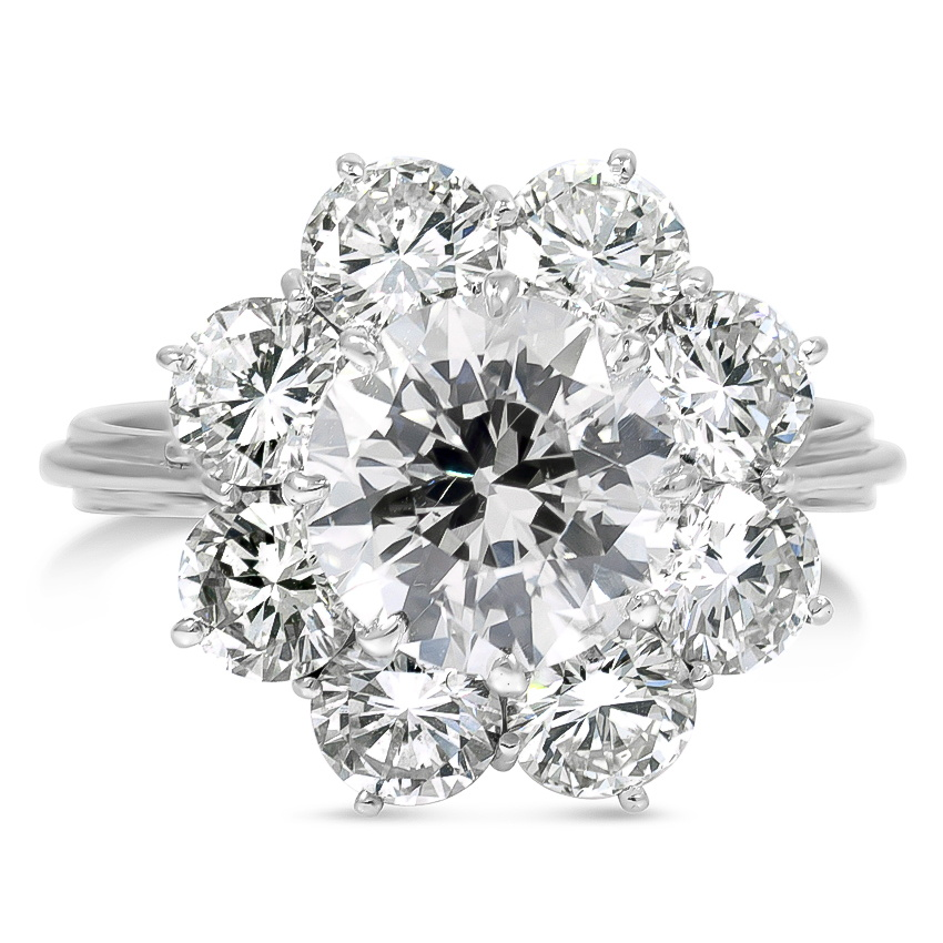 Retro Diamond Vintage Ring Bess Brilliant Earth