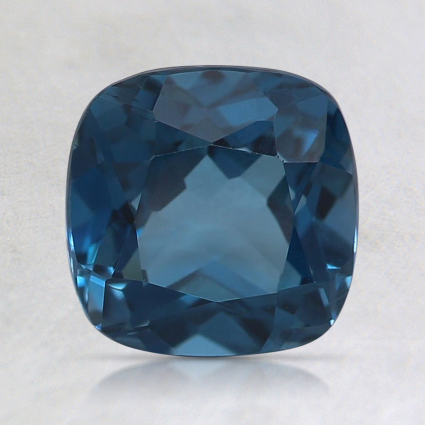 7mm London Blue Cushion Topaz