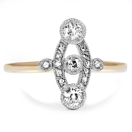 The Prisca Ring, top view