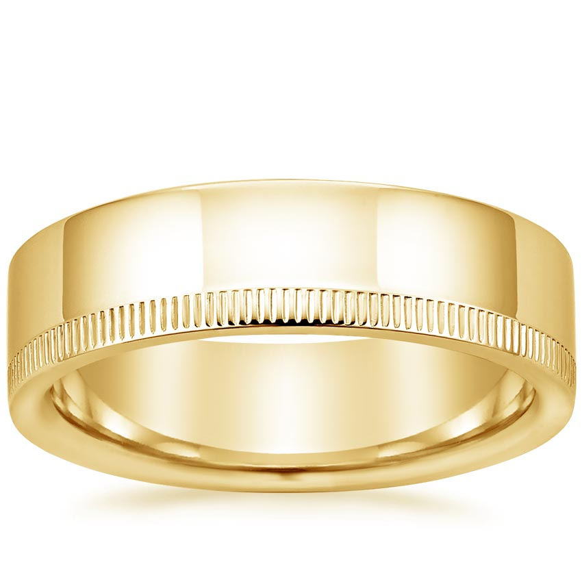 Yellow Gold Morgan Wedding Ring