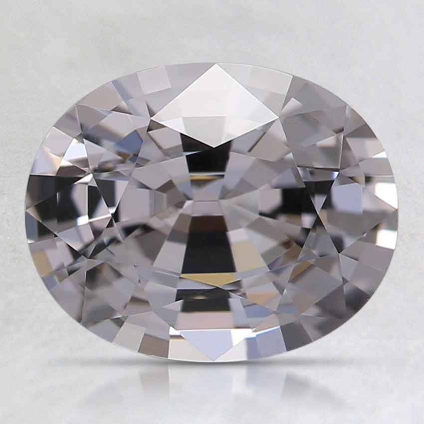 8.9x7.2mm Gray Oval Spinel