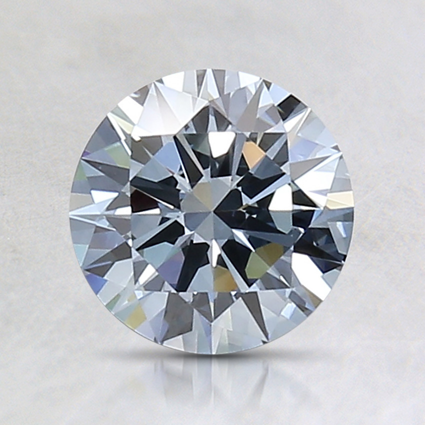 1.14 Ct. Fancy Blue Round Lab Created Diamond