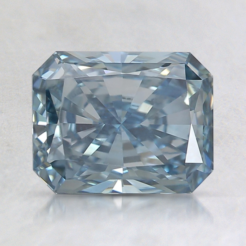 1.59 Ct. Fancy Deep Blue Radiant Lab Created Diamond