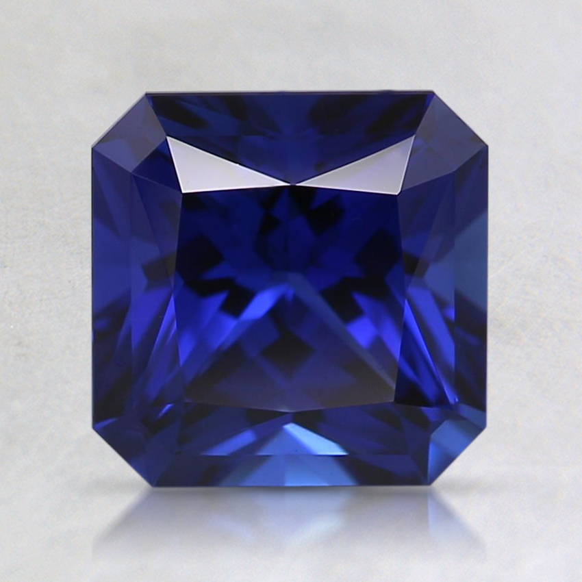 7mm Blue Radiant Lab Created Sapphire