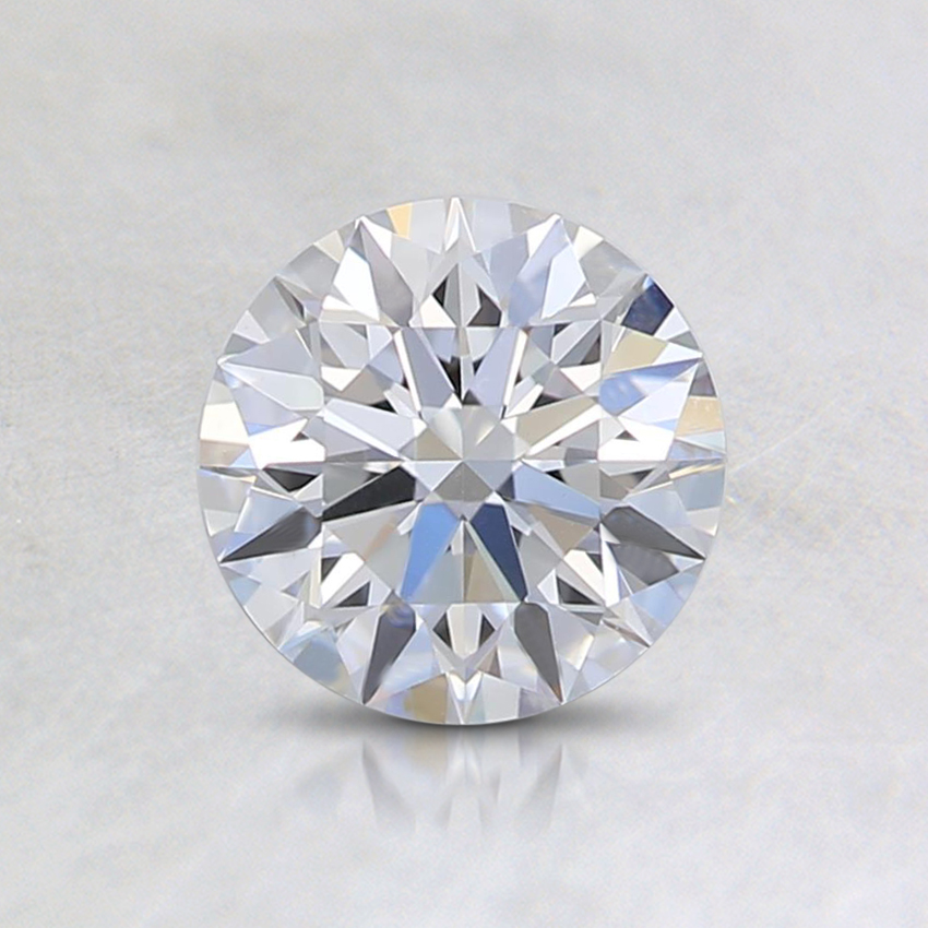 0.77 Ct. Very Light Blue Round Lab Created Diamond