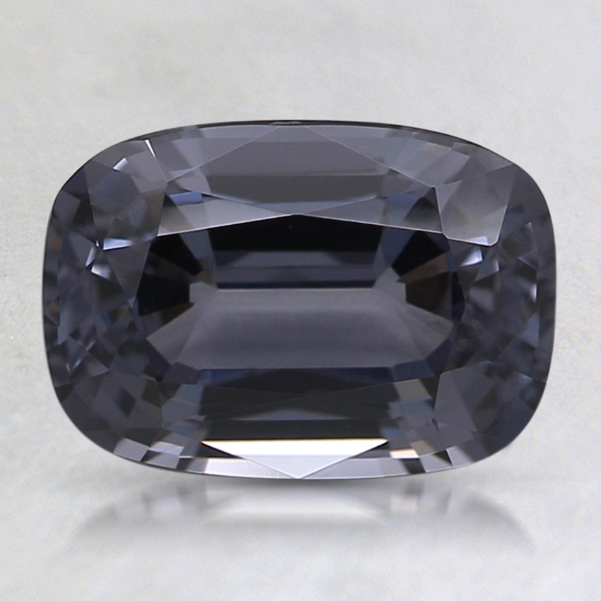 8.7x6.1mm Gray Cushion Spinel