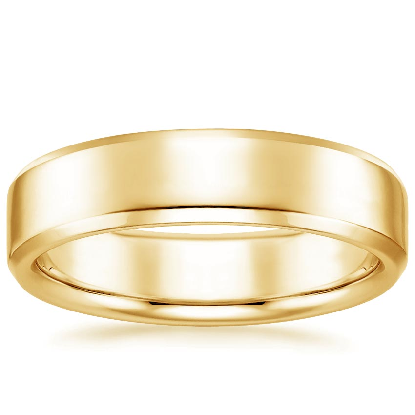 Top Twenty Men's Wedding Rings - 5.5MM TIBURON WEDDING RING