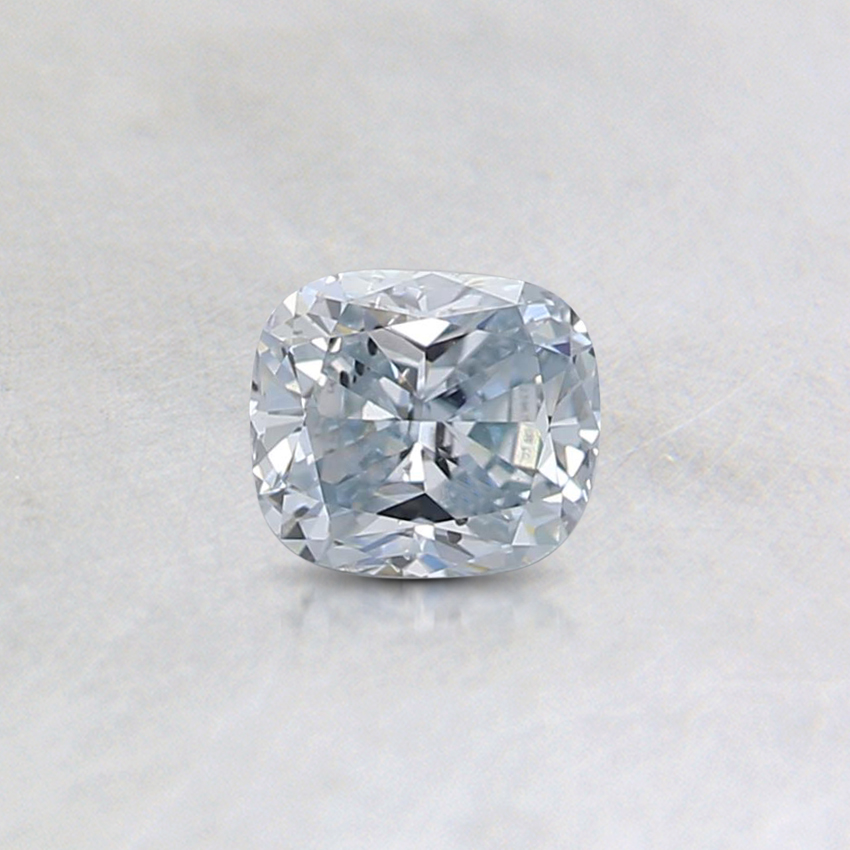 0.35 Ct. Light Blue Cushion Lab Created Diamond