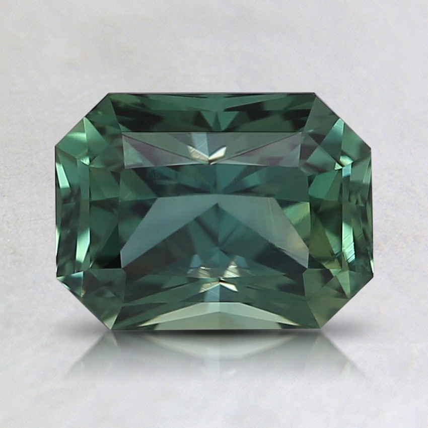 7.5x5.7mm Teal Radiant Sapphire