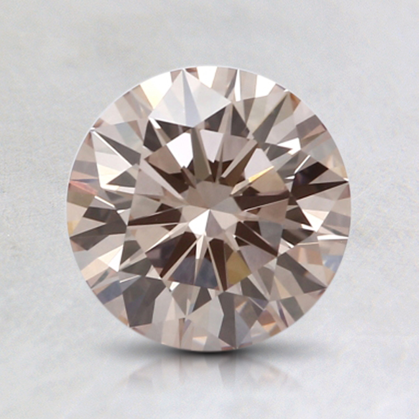 1.18 Ct. Very Light Pink Round Lab Created Diamond