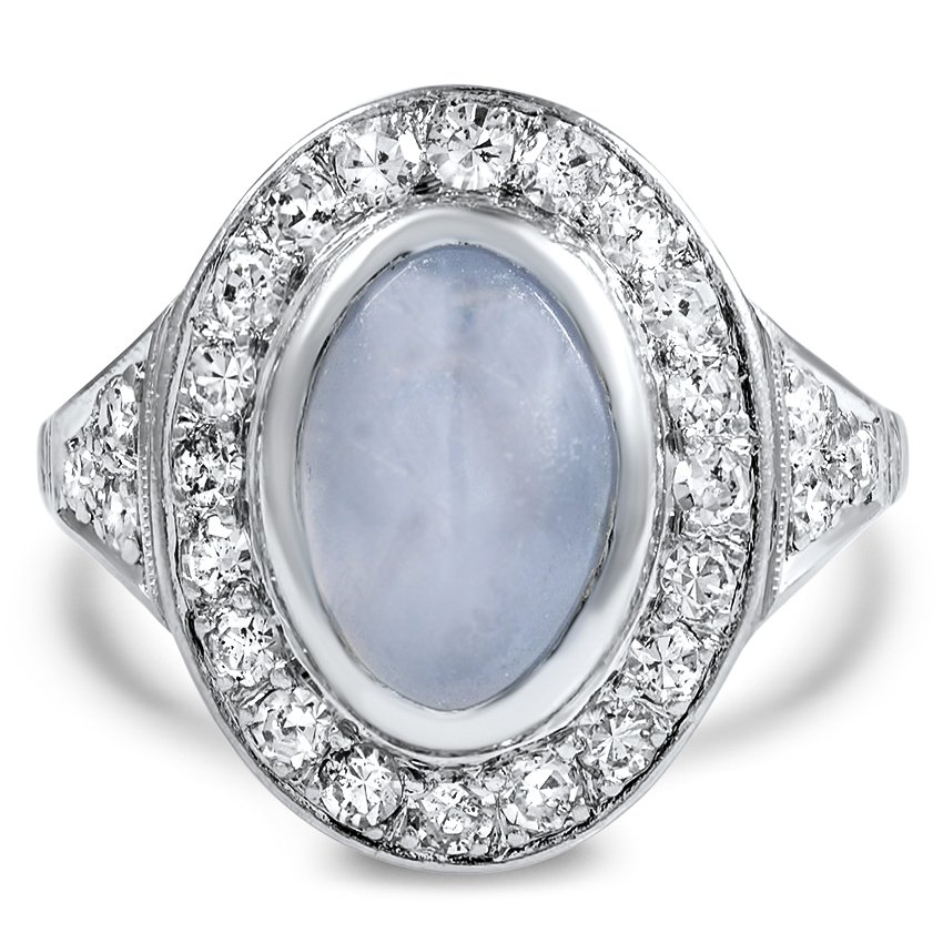Art Deco Sapphire Cocktail Ring