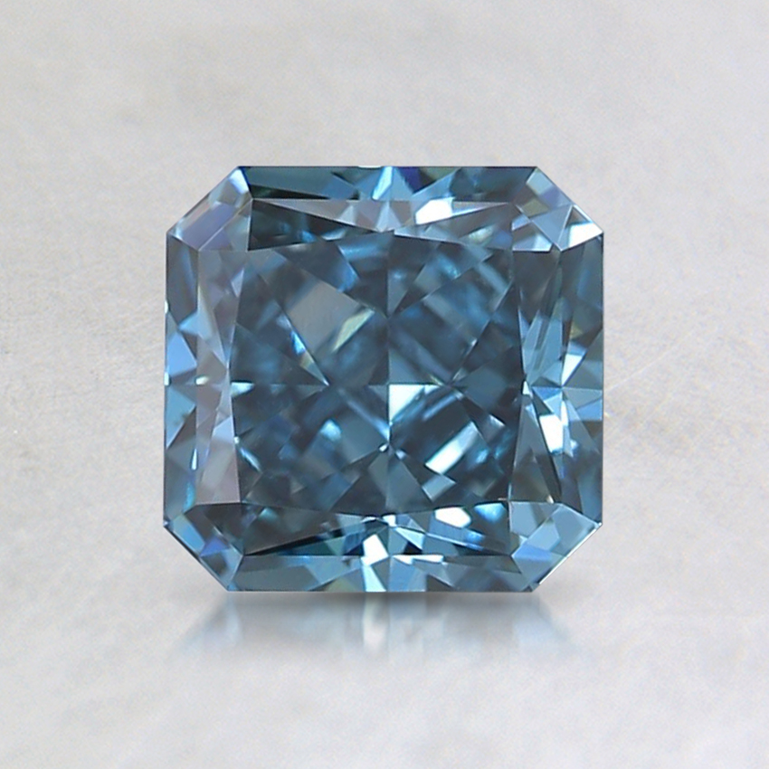 1.02 Ct. Fancy Deep Blue Radiant Lab Created Diamond