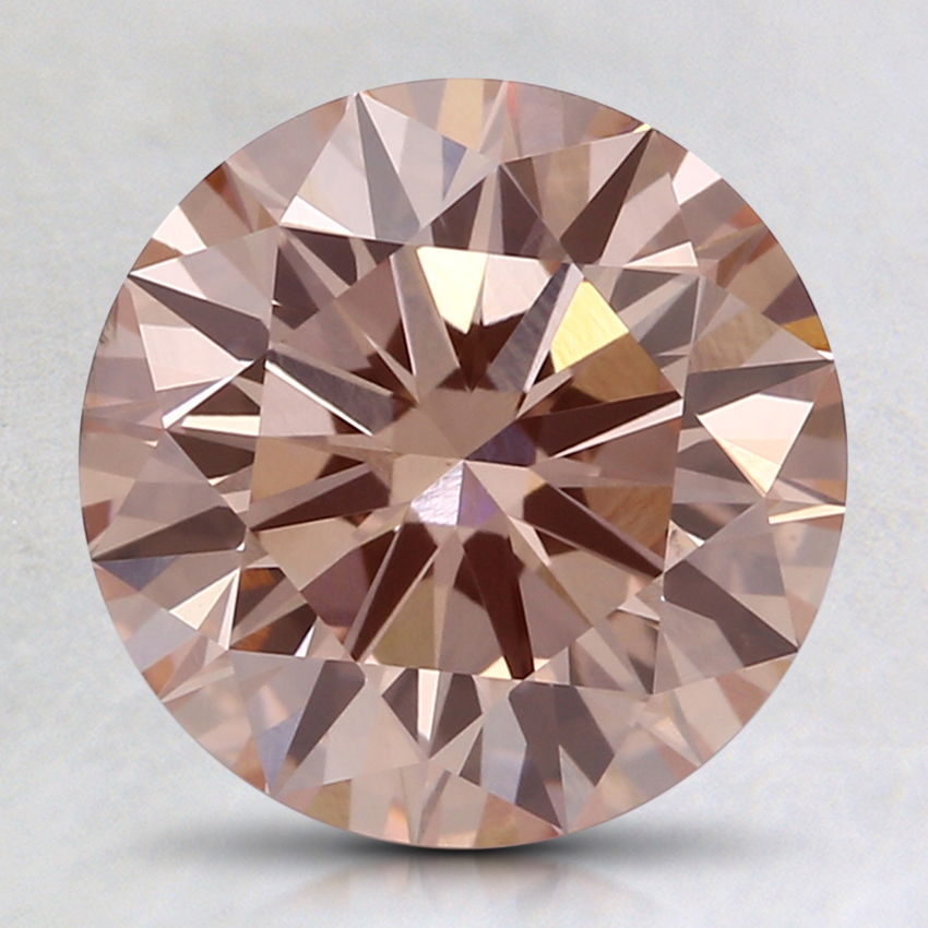2.02 Ct. Fancy Pink Round Lab Created Diamond