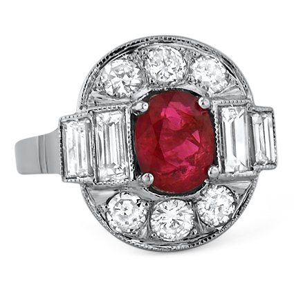 The Sharna Ring, top view