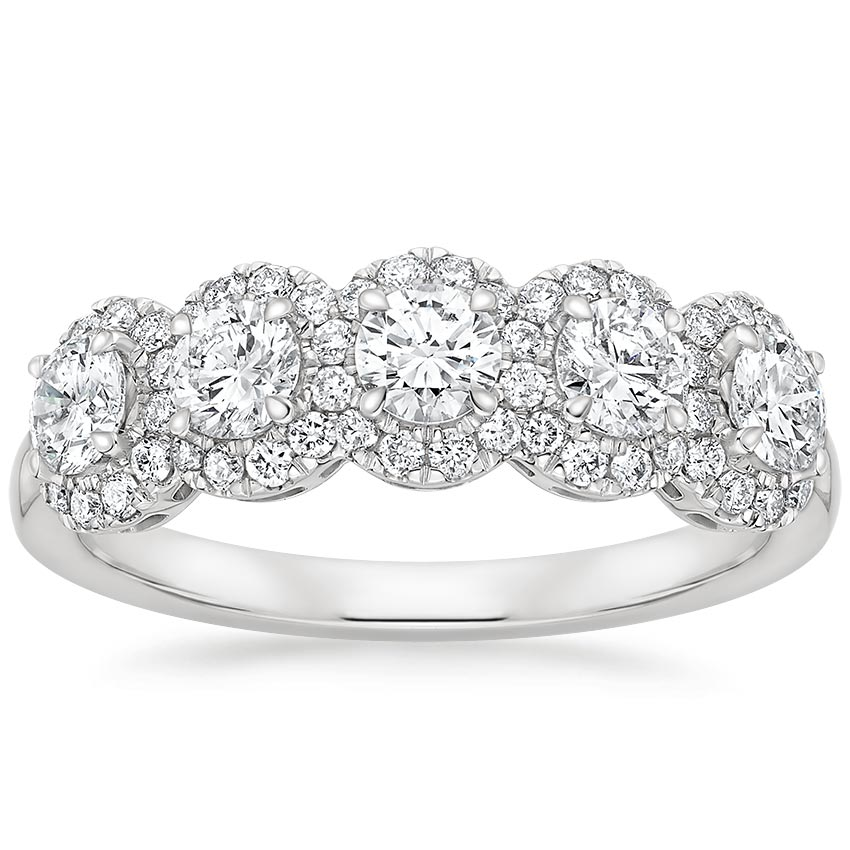 Quintessa Diamond Ring (7/8 ct. tw.) in 18K White Gold