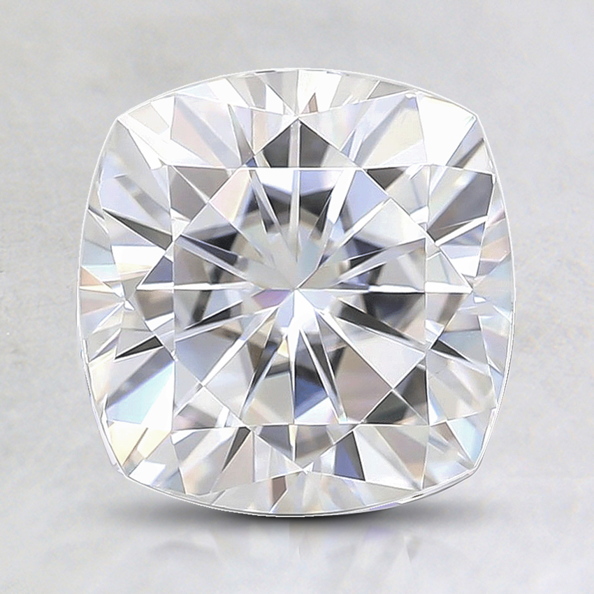 7.5mm Premium Cushion Moissanite