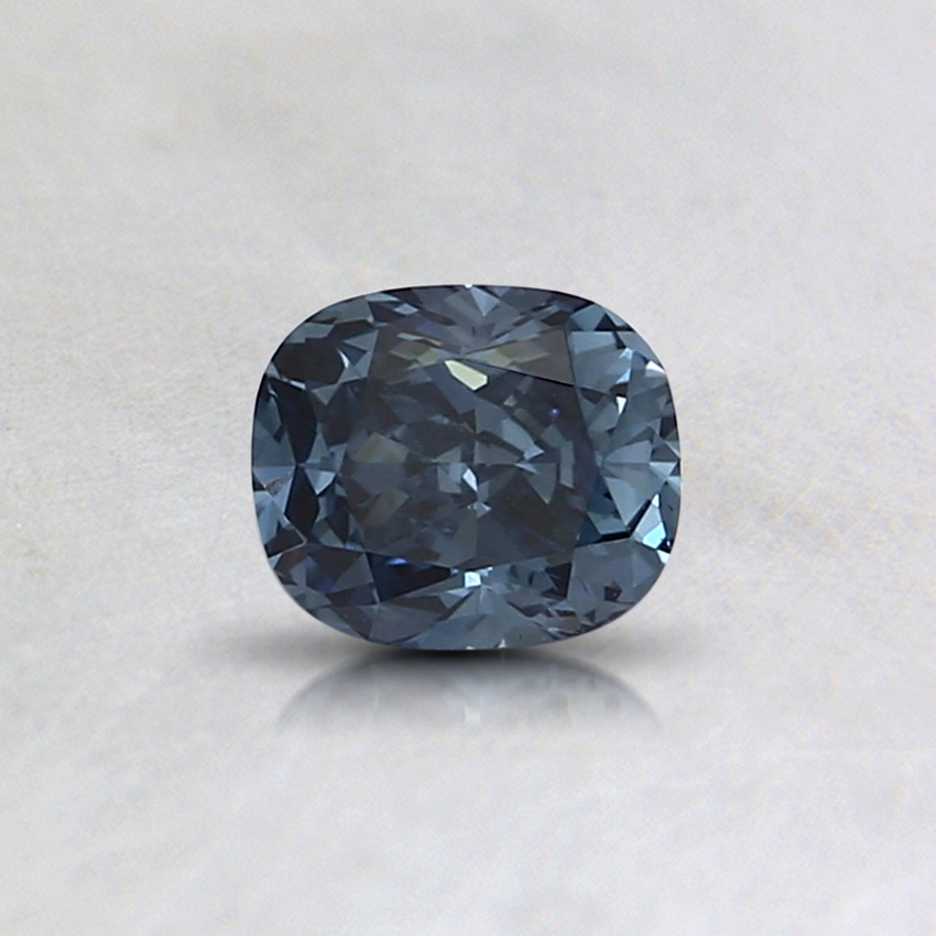 0.34 Ct. Fancy Deep Blue Cushion Lab Created Diamond
