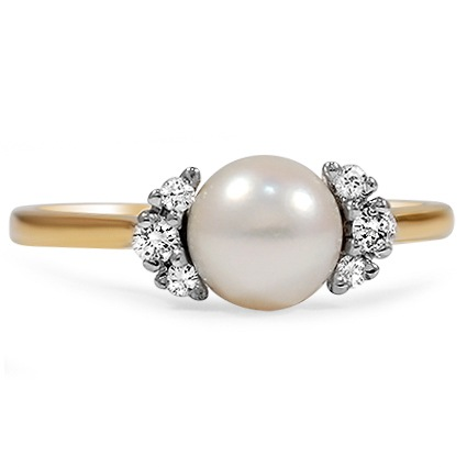 Retro Pearl Vintage Ring