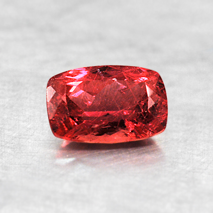 6x4mm Red Cushion Ruby