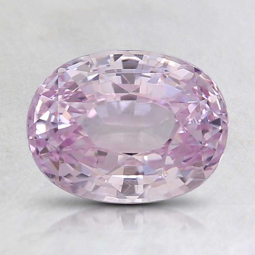 8x6.1mm Unheated Pink Oval Sapphire