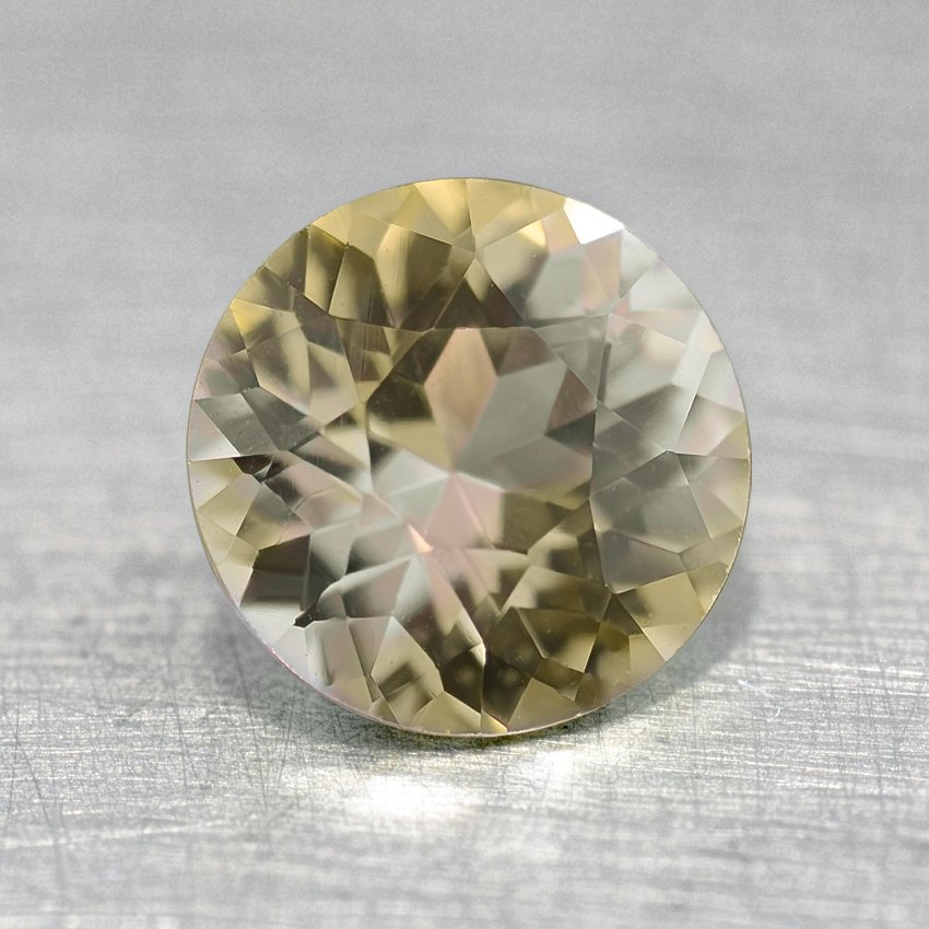 SB 1//8 cttw, Brown, SI1-SI2 14k White Gold 4-Prong Basket Round Brown Diamond SINGLE STUD Earring