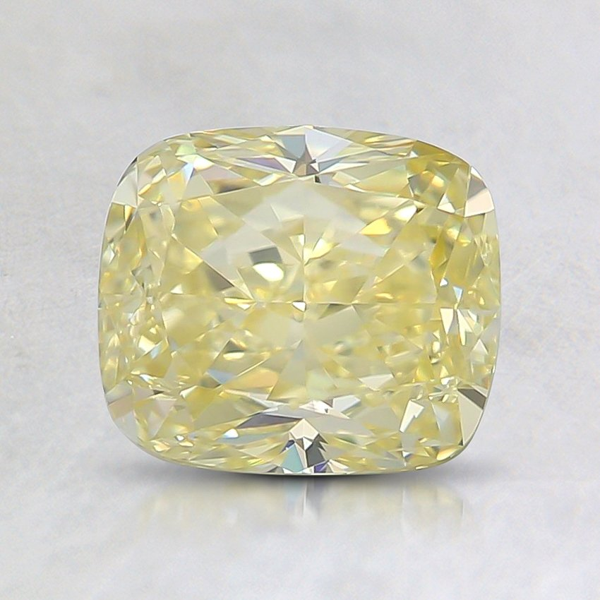 1.51 Ct. Fancy Yellow Cushion Diamond