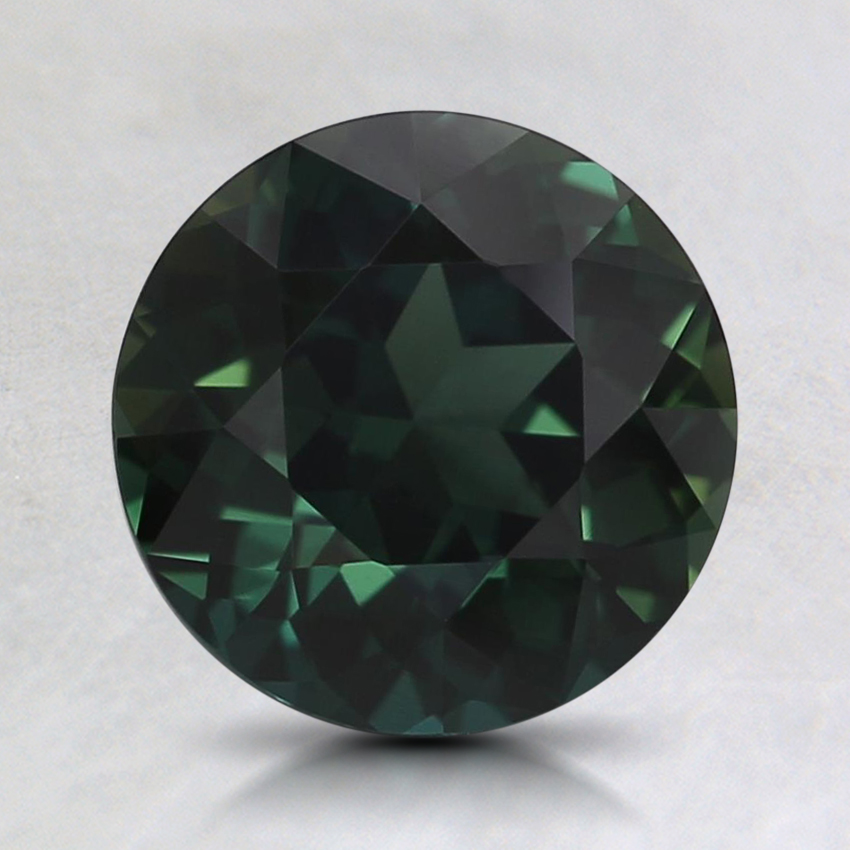 7.5mm Unheated Teal Round Sapphire
