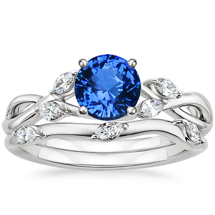 18K White Gold Sapphire Willow Matched Set (1/4 ct. tw.) - photo #20