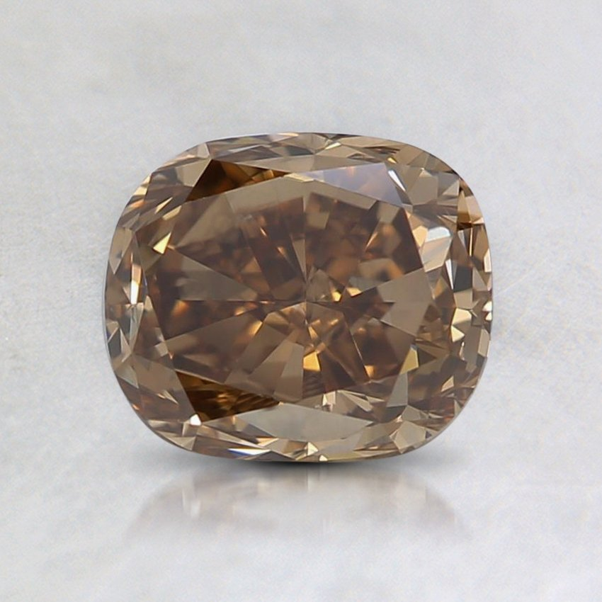 1.51 Ct. Natural Fancy Brown Cushion Diamond