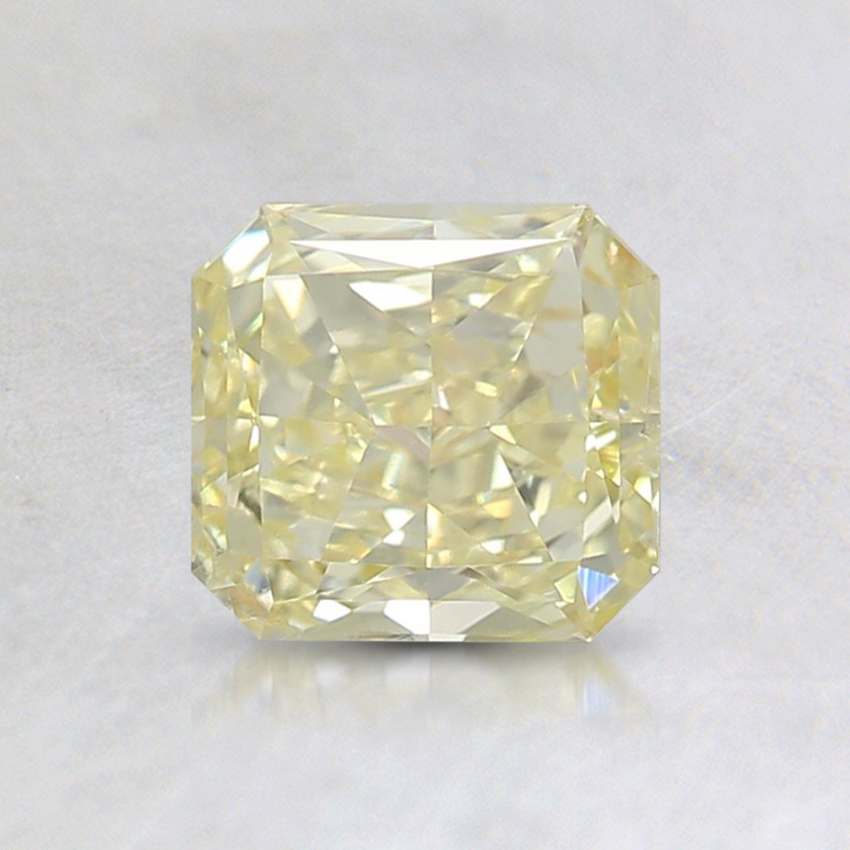 0.72 Ct. Fancy Yellow Radiant Diamond